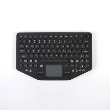 BT-870-TP-SLIM Rugged iKey Keyboard