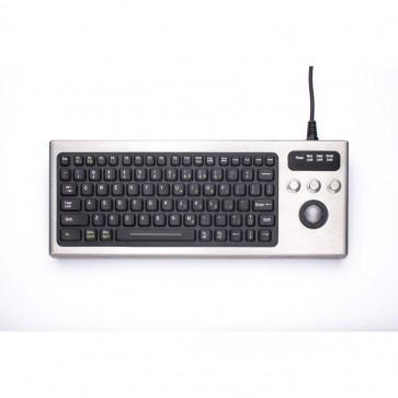 iKey | DBL-810-TB - Industrial Keyboard with Trackball