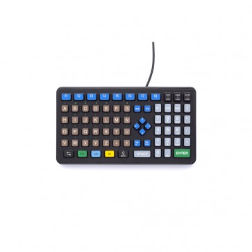 iKey | DP-72 - Rugged Industrial Keyboard