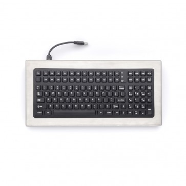 iKey | DT-1000 - Desktop Stainless Steel Keyboard