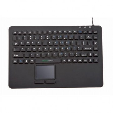 EconoKeys | EK-87-TP - Silicon Keyboard with Touchpad