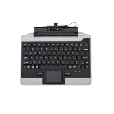 iKey IK-PAN-FZG1-NB-V5 Snap-in-Place Fully Rugged Jumpseat Keyboard for the FZ-G1 Tablet