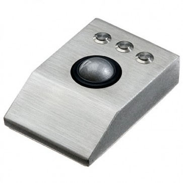iKey | DT-TB - Desktop Stainless Steel Trackball