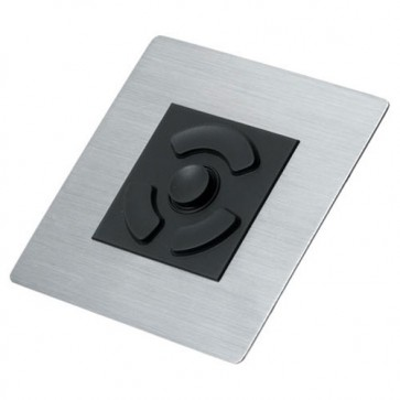 iKey | HP-PM - Panel Mount HulaPoint II Pointing Device with Stainless Steel Bezel