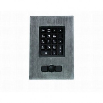 iKey | PM-18-HP - 18 Key Panel Mount Numeric Keypad with HulaPoint and Stainless Steel Bezel