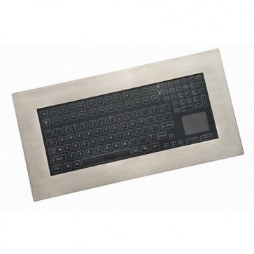 iKey | PM-5K-MEM-TP - Industrial Panel Mount Membrane Keyboard with Touchpad
