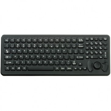 iKey | SLK-102-M - Mobile Mount Backlit Rugged Keyboard with  Integrated HulaPoint II