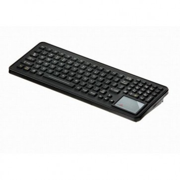 iKey | SLK-102-TP-M -Mobile Mount Rugged Keyboard with Integrated Backlighting and Touchpad