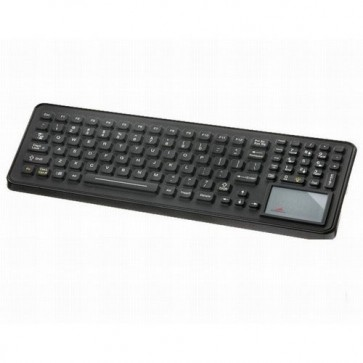 iKey | SLK-102-TP - Backlit Rugged Keyboard with  Integrated Touchpad