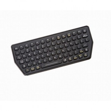 iKey | SLK-77 - Ultra Compact Backlit Industrial Keyboard