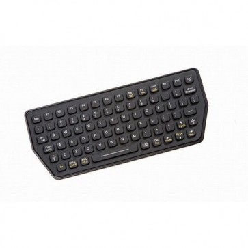 iKey | SLK-77-M -Mobile Mount Ultra Compact Backlit Industrial Keyboard
