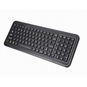 iKey | SLP-101 - Full-Size Rugged Panel Mount Keyboard with Integrated Backlighting