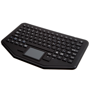 iKey | SB-87-TP - Rugged Ultra-Thin Mobile Keyboard with Integrated Touchpad