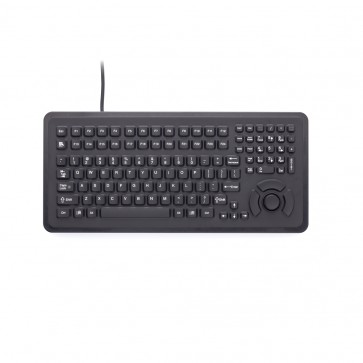 iKey|PMU-5K-FSR  Rugged Panel Mount Keyboard with Integrated Force Sensing Resistor