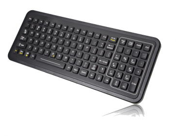 iKey | SB-101  - Ultra Thin Rugged Keyboard with Integrated  Backlighting and QuickLock Function