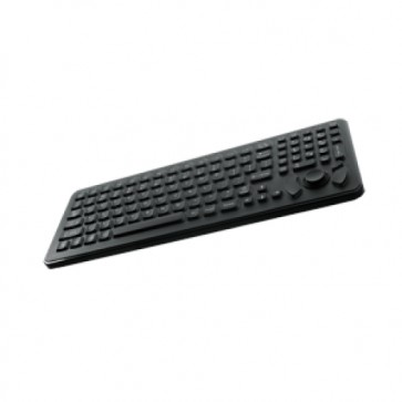 iKey|SLK-102-461-FSR  Rugged Military Keyboard with with Integrated Force Sensing Resistor
