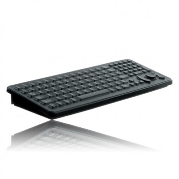 iKey | SK-102-461-M - Mobile Mount MIL-STD-461 Military Keyboard with with Integrated HulaPoint