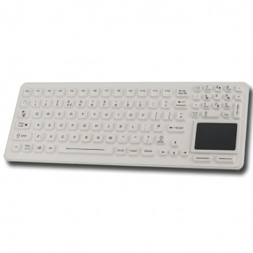 iKey | Sealed with Integrated Touchpad and Backlighting
