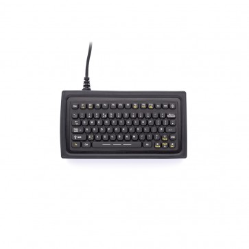 iKey | SL-75 - Rugged Compact Mobile Keyboard with Integrated Backlighting
