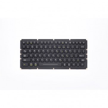 iKey | SL-81-OEM - OEM Compact Backlit Industrial Keyboard with Integrated Backlighting