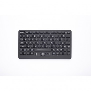 iKey | SL-86-911-OEM - OEM Compact Rugged Keyboard with Emergency Key and Integrated HulaPoint II
