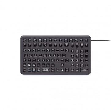 iKey   SL-91 - Small Footprint Industrial Keyboard with Epoxy Keycaps