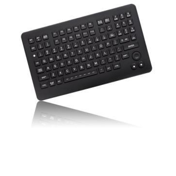 iKey | SLK-880-FSR - Rugged Backlit Military Keyboard with Integrated FSR Pointing Device