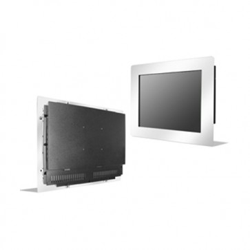 "10.1"" Wide Stainless Panel Mount LCD Display"