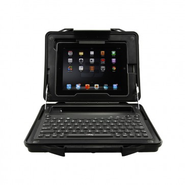 iKey | StreetCase - Ultra Rugged Tablet Case with  Integrated Bluetooth Keyboard