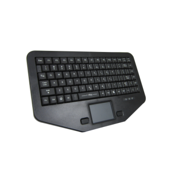 iKey | SWB-86-TP - Compact Rugged Mobile keyboard with Full-travel Keys and Integrated Touchpad