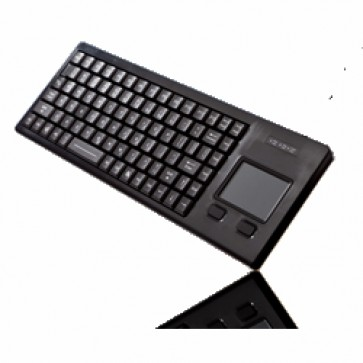 iKey | WB-86-TP - Full-Travel Ultra Compact Rugged Keyboard with Integrated Touchpad