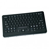 SLP-86-911-461 Panel Mount Military Keyboard with with Integrated HulaPoint and Emergency Key