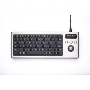 iKey | DBL-810-TB - Industrial Keyboard with Trackball