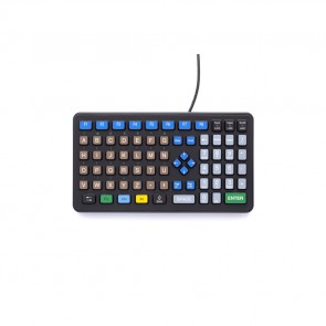 iKey   DP-72 - Rugged Industrial Keyboard