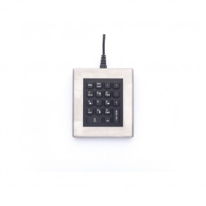 iKey | DT-18 - Desktop Stainless Steel Keypad