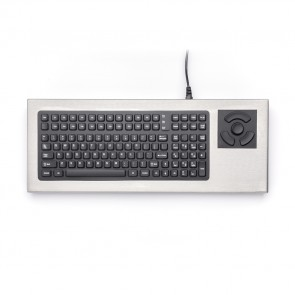 iKey | DT-2000-NI - Nonincendive Stainless Steel Keyboard with HulaPoint