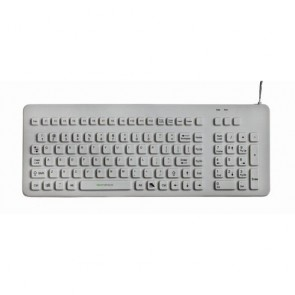 EconoKeys | EK-106-W - Silicon Medical Keyboard