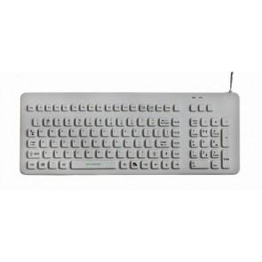 EconoKeys   EK-106-W - Silicon Medical Keyboard