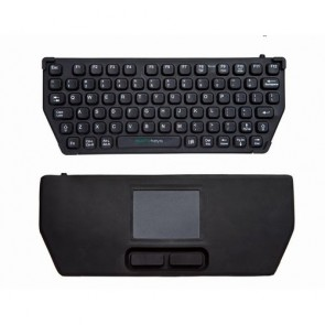 EconoKeys | EK-76-TP - Compact Silicon Keyboard with Touchpad