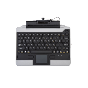 Key IK-PAN-FZG1-C1-V5 Snap-in-Place Fully Rugged Jumpseat Keyboard for the FZ-G1 Tablet