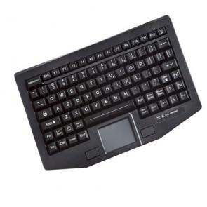 iKey | FT-86-911-TP - Full Travel 86 key Compact Backlit Keyboard with Touchpad