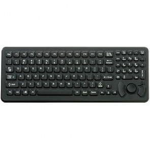iKey | SK-102-M - Mobile Mount SlimKey Industrial Keyboard with Integrated HulaPoint