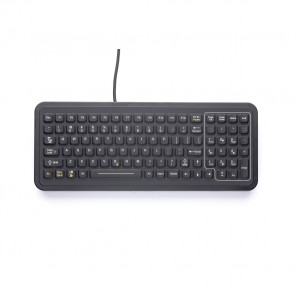 iKey | PM-101 - Full-Size Panel Mount Industrial Keyboard
