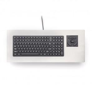 iKey | PM-2000-NI - Nonincendive Panel Mount Keyboard with HulaPoint and Stainless Steel Bezel