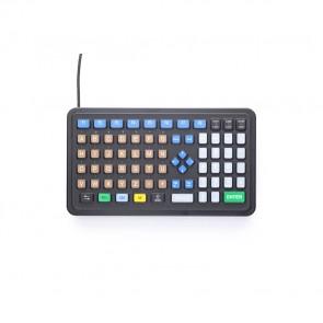 iKey   PM-72 - Industrial Panel Mount Keyboard with Oversized Keys