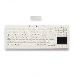 iKey | SBW-97-TP - Rechargeable Wireless Keyboard with Integrated Touchpad