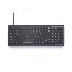 iKey | SK-101 - SlimKey Industrial Keyboard with Numeric Keypad