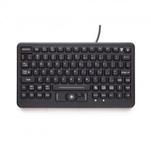 iKey | SL-86-911 - Compact Rugged Keyboard with Emergency Key and Integrated HulaPoint II
