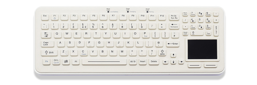 iKey SBW-97-TP Wireless Medical Keyboard
